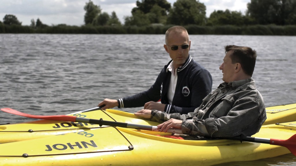 Van Lieshout en Gerbrand Bakker