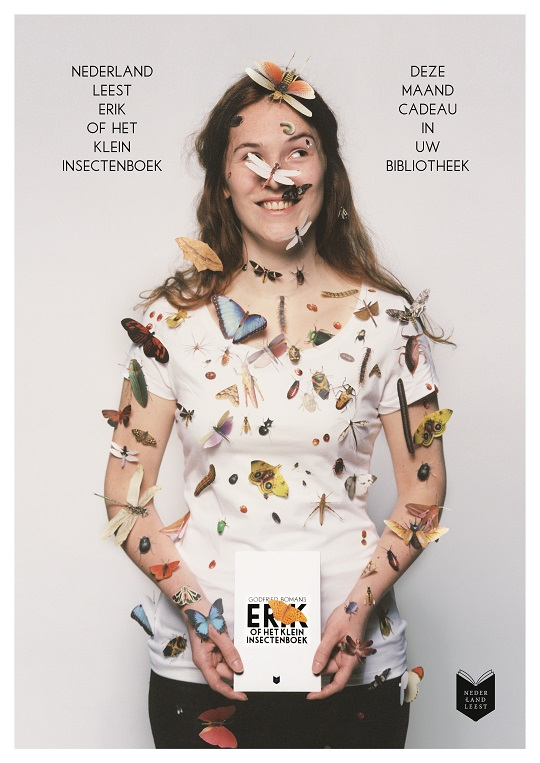 Affiche Nederland Leest 2013