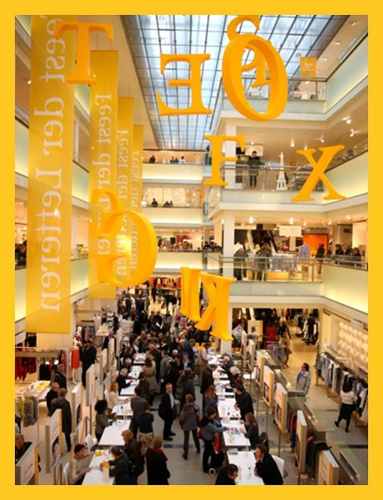 Bijenkorf Amsterdam - Feest der Letteren