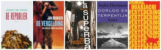 Shortlist Gouden Boekenuil 2014