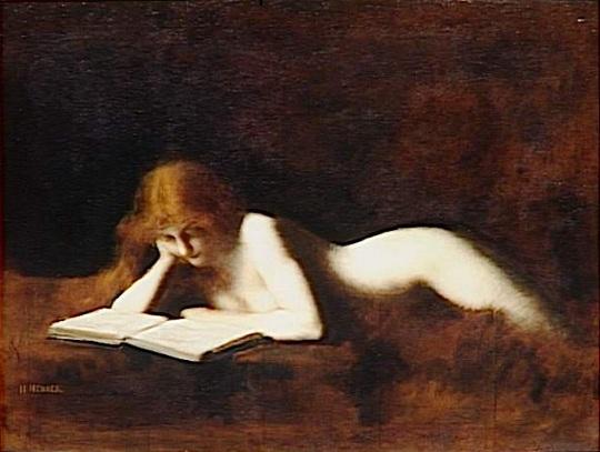 """Jean-Jacques Henner: 'De lezeres"""""""