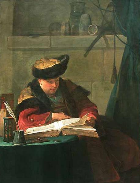 De-lezende-filosoof-Chardin