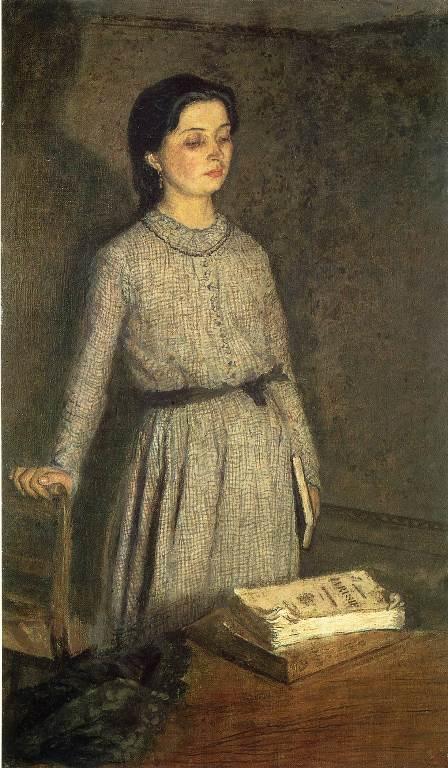 Gwen John: 'De student' (1903)